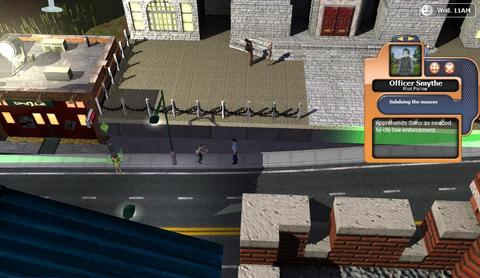 Simcity Societies Policeman