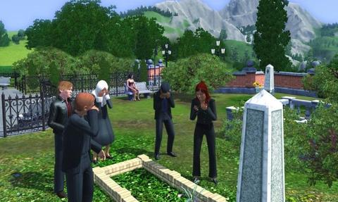 Sims 3 Funeral