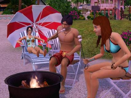 Sims 3 Roasting Marshmallows