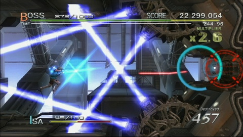 sin and Punishment Star Successor Lasers