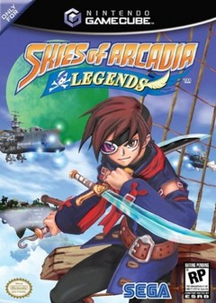 Skies of Arcadia Legends Cover