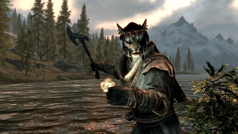 Skyrim cat People