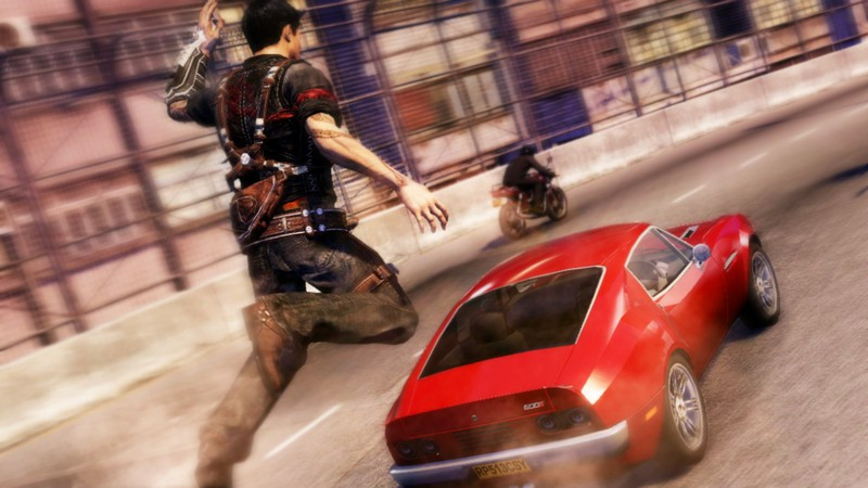 Sleeping Dogs car Leap of Faith