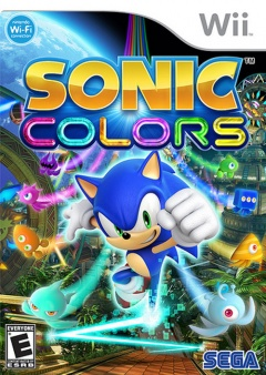 Sonic Colors Cover