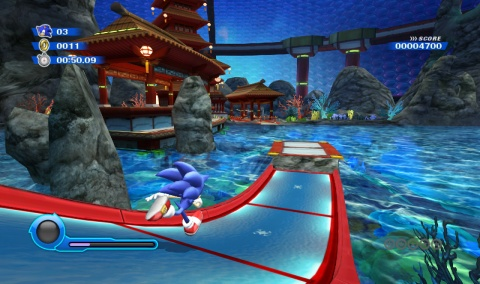 Sonic Colors Water