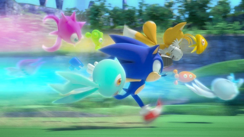 Sonic Colors Zoooooom