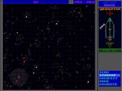 Star Control 2 Galaxy Map