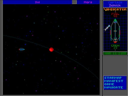 Star Control 2 Mars Orbit