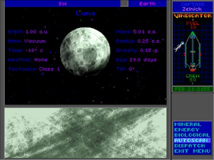 Star Control 2 Moon Scan Luna