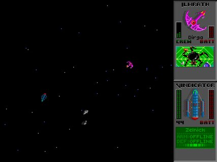 Star Control 2 Space Battle Ilwrath