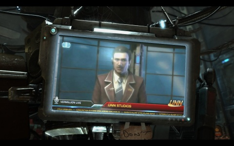 Starcraft 2 Wings of Liberty News Anchor