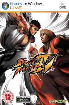 Street Fighter 4 Cover