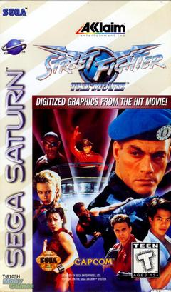 Street Fighter The Movie The Game Cover