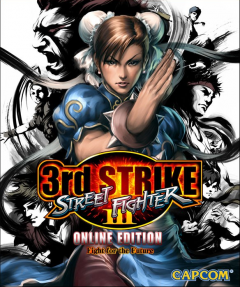 Street Fighter Third Strike Online Cover
