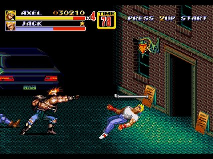 Streets Of Rage 2 Axel Jack Pipe