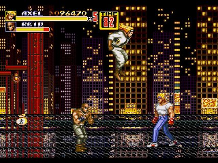 Streets Of Rage 2 Axel Reid Skyscrapers