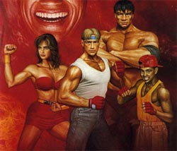 Streets Of Rage 2 Character Art