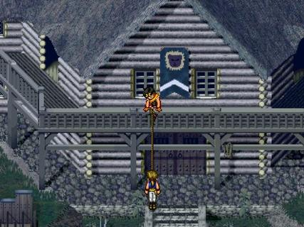 Suikoden 2 Riou Jowy Rope Escape
