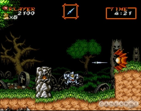 Super Ghouls n Ghosts Arthur