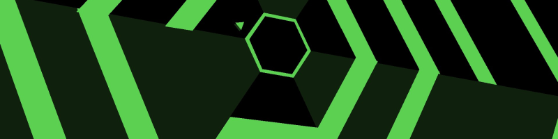 Super Hexagon Banner