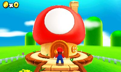 Super Mario 3d Land House