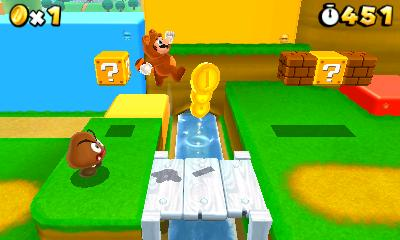 Super Mario 3d Land one