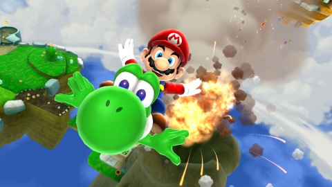Super Mario Galaxy 2 Blastoff