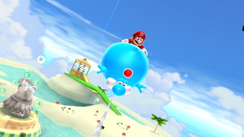 Super Mario Galaxy 2 Blue