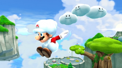 Super Mario Galaxy 2 Cloud
