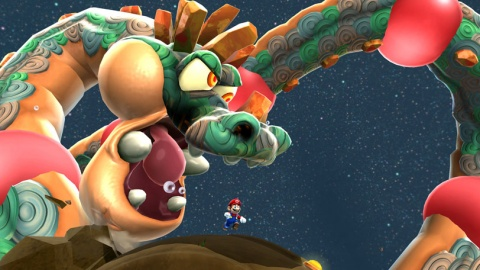 Super Mario Galaxy 2 Gobblegut