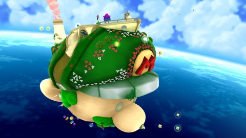 Super Mario Galaxy 2 Starship