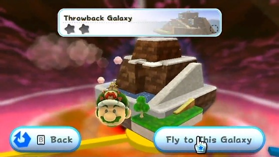 Super Mario Galaxy 2 Throwback Galaxy
