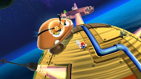 Super Mario Galaxy Giant Goomba