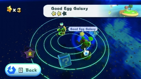 Super Mario Galaxy Good egg Galaxy