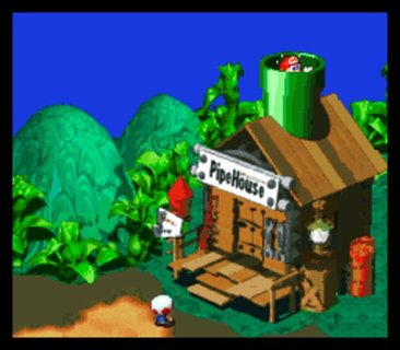 Super Mario Rpg House
