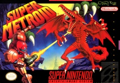 Super Metroid Cover