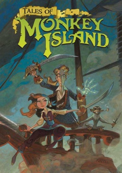Tales of Monkey Island: Rise of the Pirate God Cover