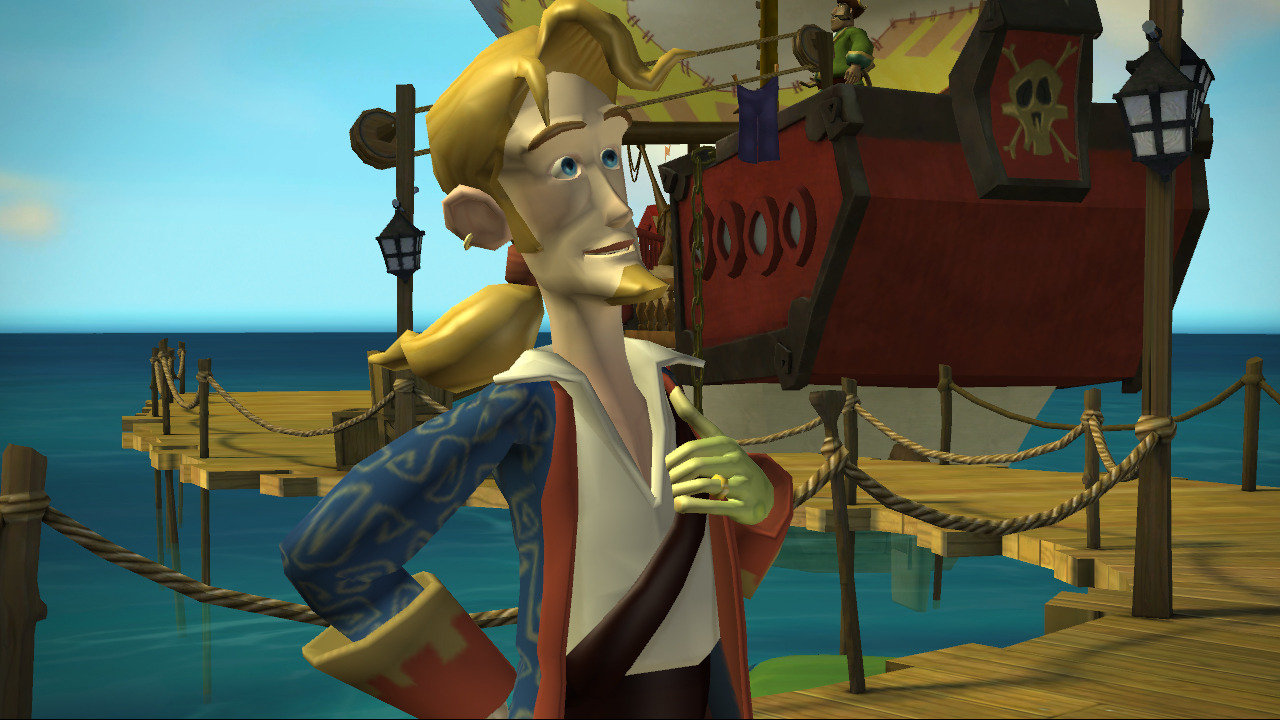 Tales of Monkey Island Guybrush Threepwood Screaming Narwhal