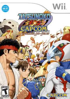 Tatsunoko Vs Capcom Cover