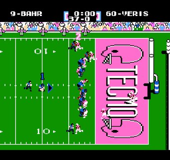 Tecmo Super Bowl Kicking Field Goal