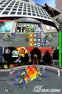 The World Ends With You Flame Pin Battle