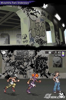 The World Ends With You Graffiti Underpass
