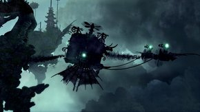Trine 2 Goblin Menace Spooky Flying Contraption