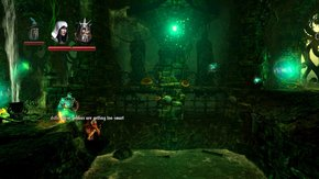 Trine 2 Goblin Menace Super pit