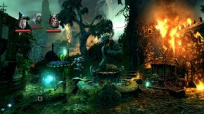 Trine 2 Goblin Menace Water Fire