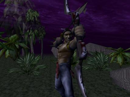 Turok Dinosaur Hunter Bow And Arrow Cutscene