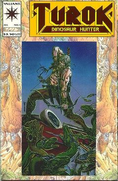 Turok Dinosaur Hunter Comic Cover