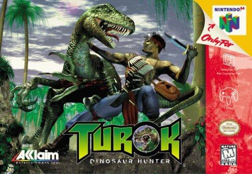 Turok Dinosaur Hunter Cover