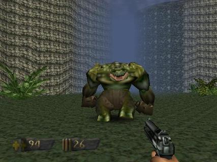 Turok Dinosaur Hunter Purlin Huge Bad Guy
