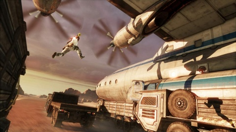 Uncharted 3 Leap